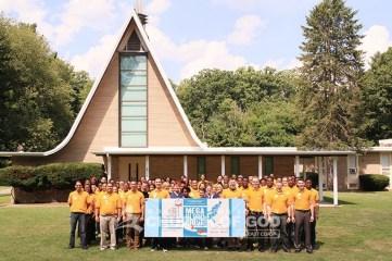 east coast mega blood drive 2016, philadelphia, yellow shirt, volunteer