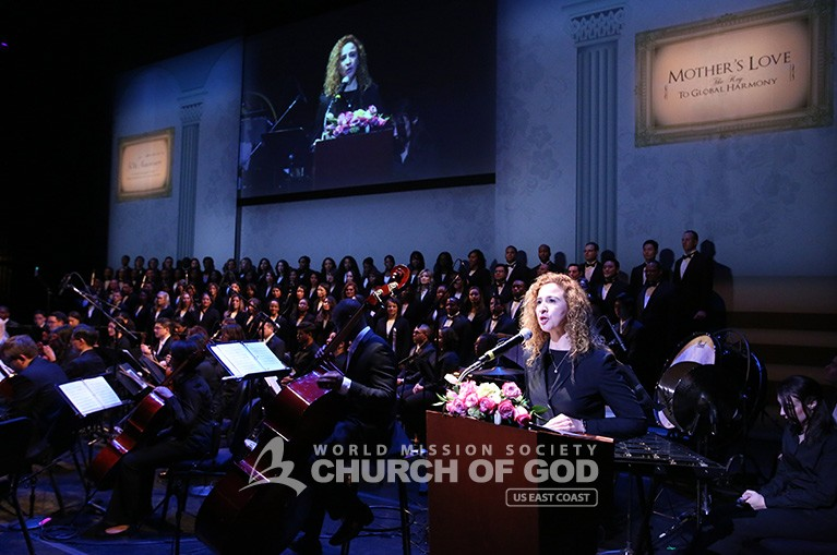 jubilee, 50th anniversary, World Mission Society Church of God, WMSCOG, Church of God, Mother's love, global harmony, key to harmony, orchestra, strings, amazing grace, dancing, NJPAC,
