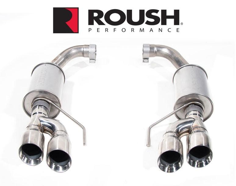 roush axleback exhaust system 2018