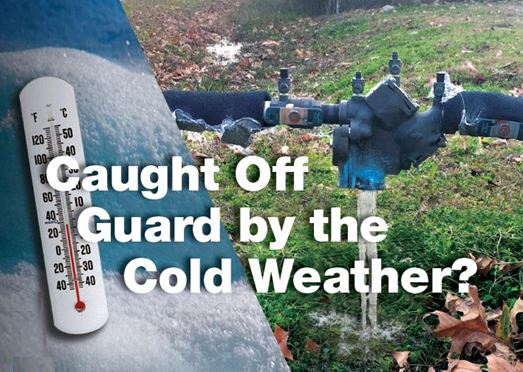 Watts – Caught off guard by the Cold Weather?