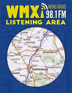 WMXI FM 98.1 - The Voice of the Pine Belt