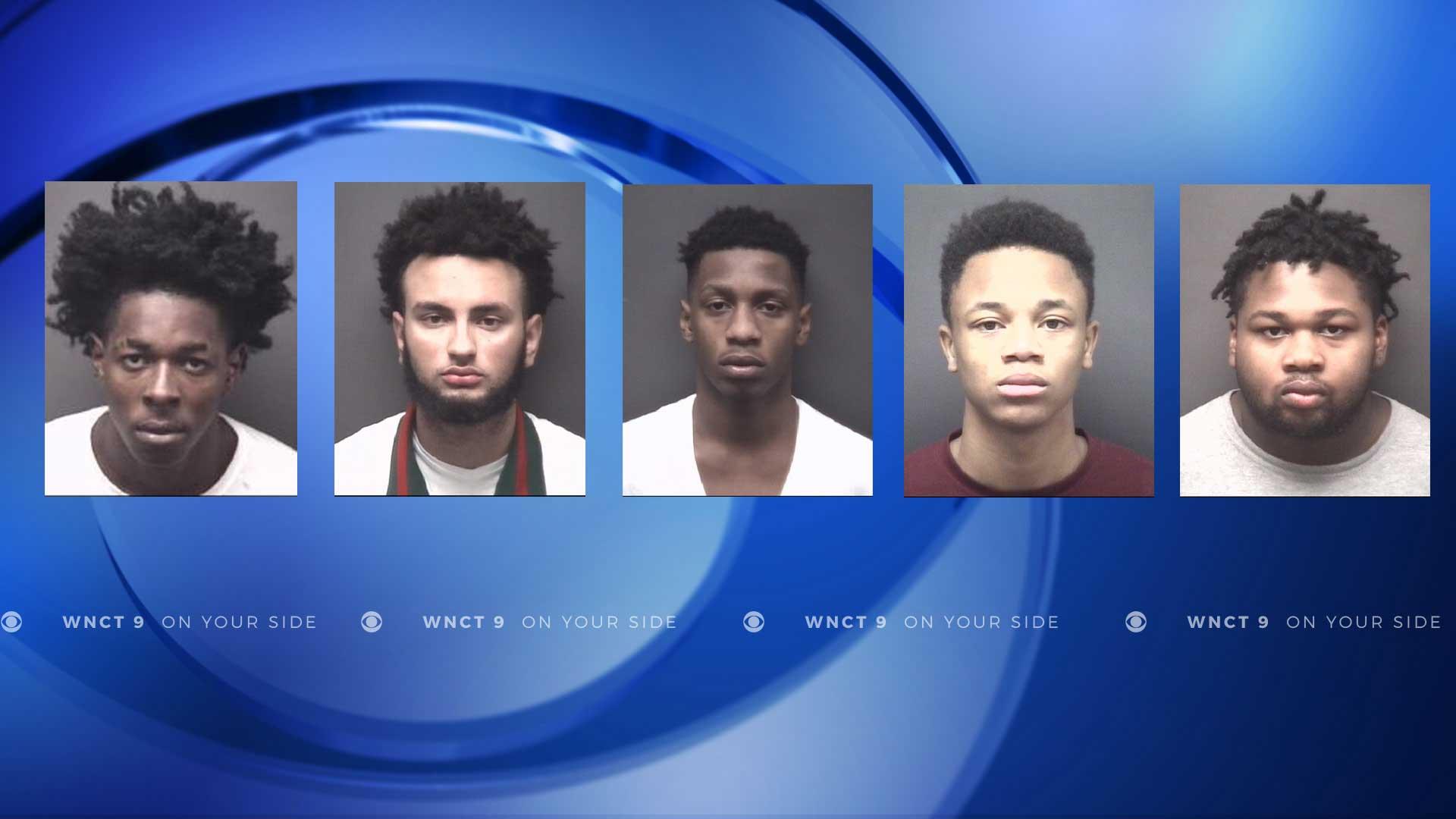 Multiple arrests made in string of Greenville car break-ins