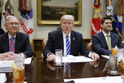 Donald Trump, Paul Ryan, Mitch McConnell_360404