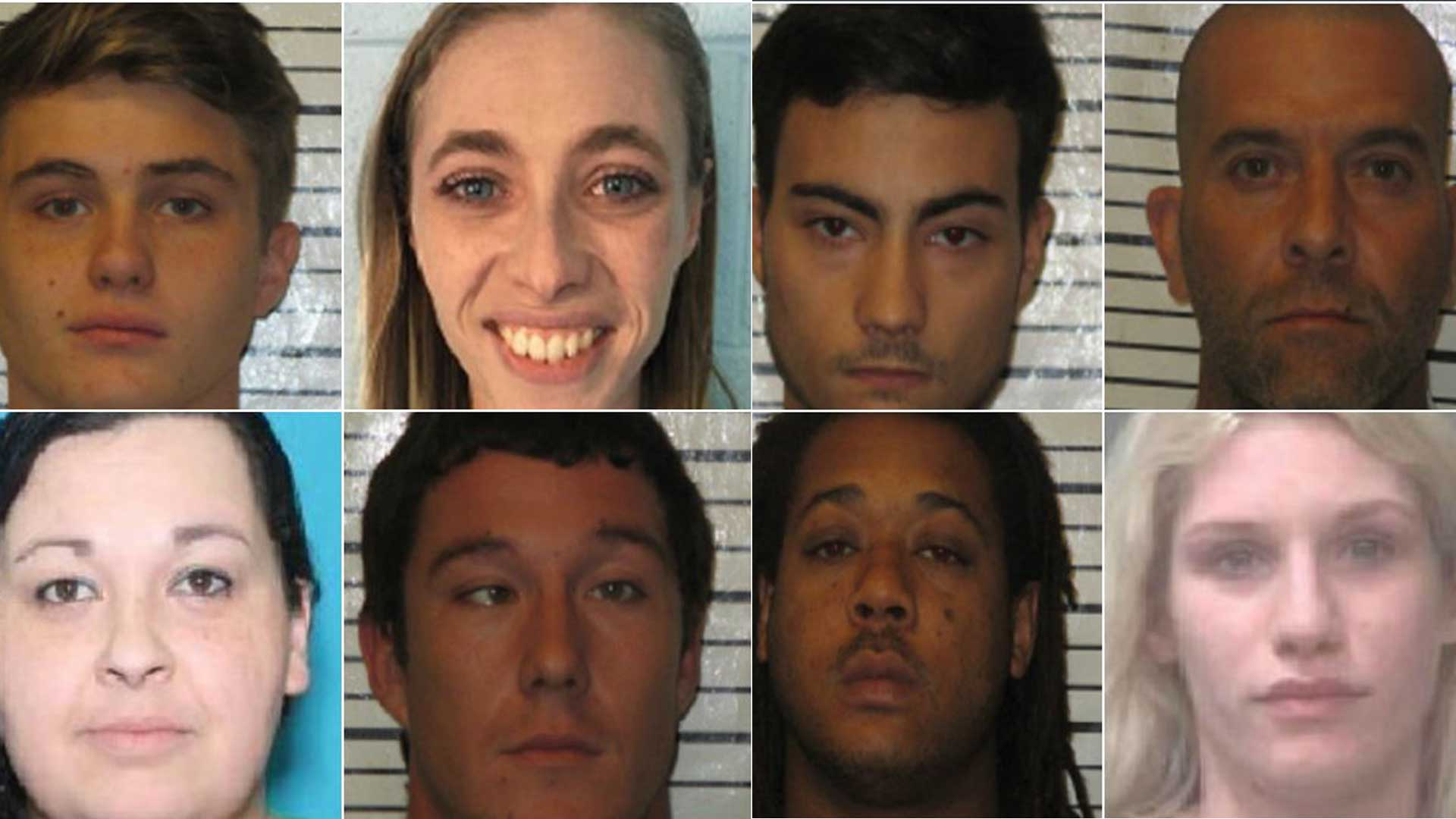 Eight arrested on drug charges in 4th round of Operation