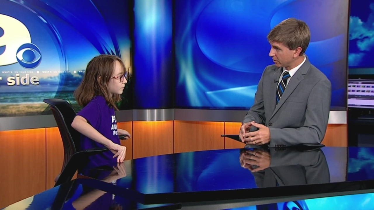 WNCT9 First Alert Weather Kids: Meet Marjory Pearce