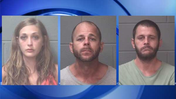 Deputies: 2 arrested, 1 woman wanted after search warrant in