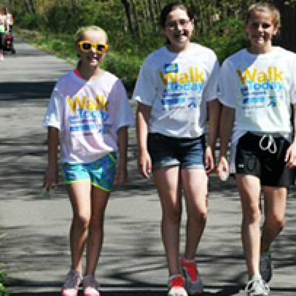 Great Strides Fundraising Walk Photo