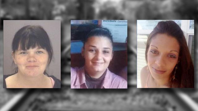 Christina Bennett, Rhonda Jones, and Megan Oxendine