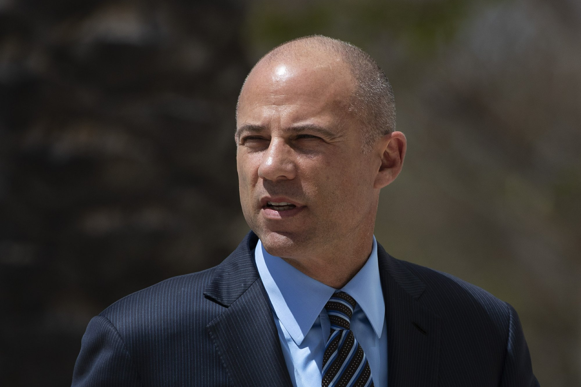 Michael Avenatti Arrives at Court