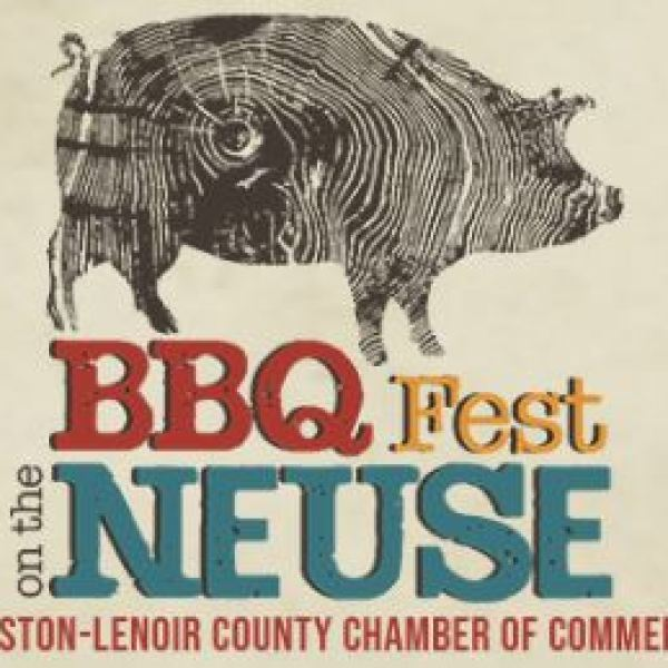 2019 BBQ Fest on the Neuse Logo