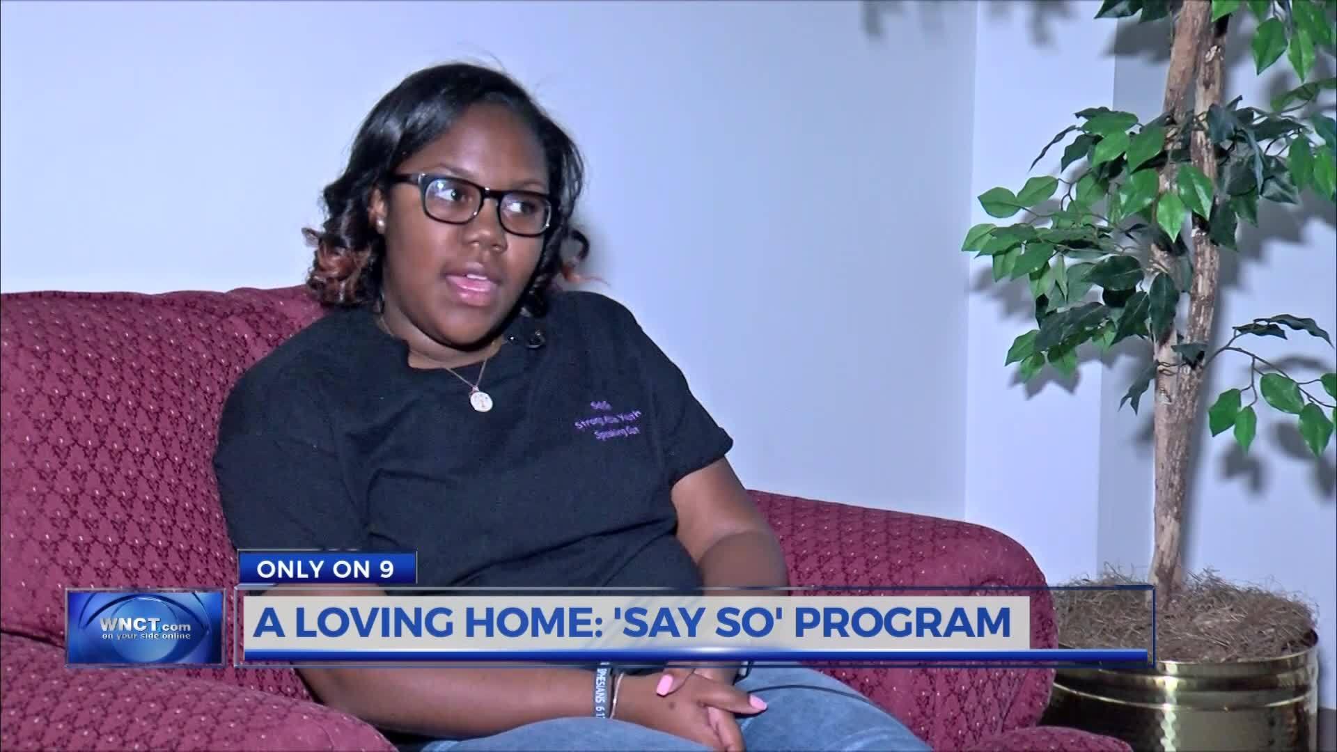 A Loving Home: Say So Program