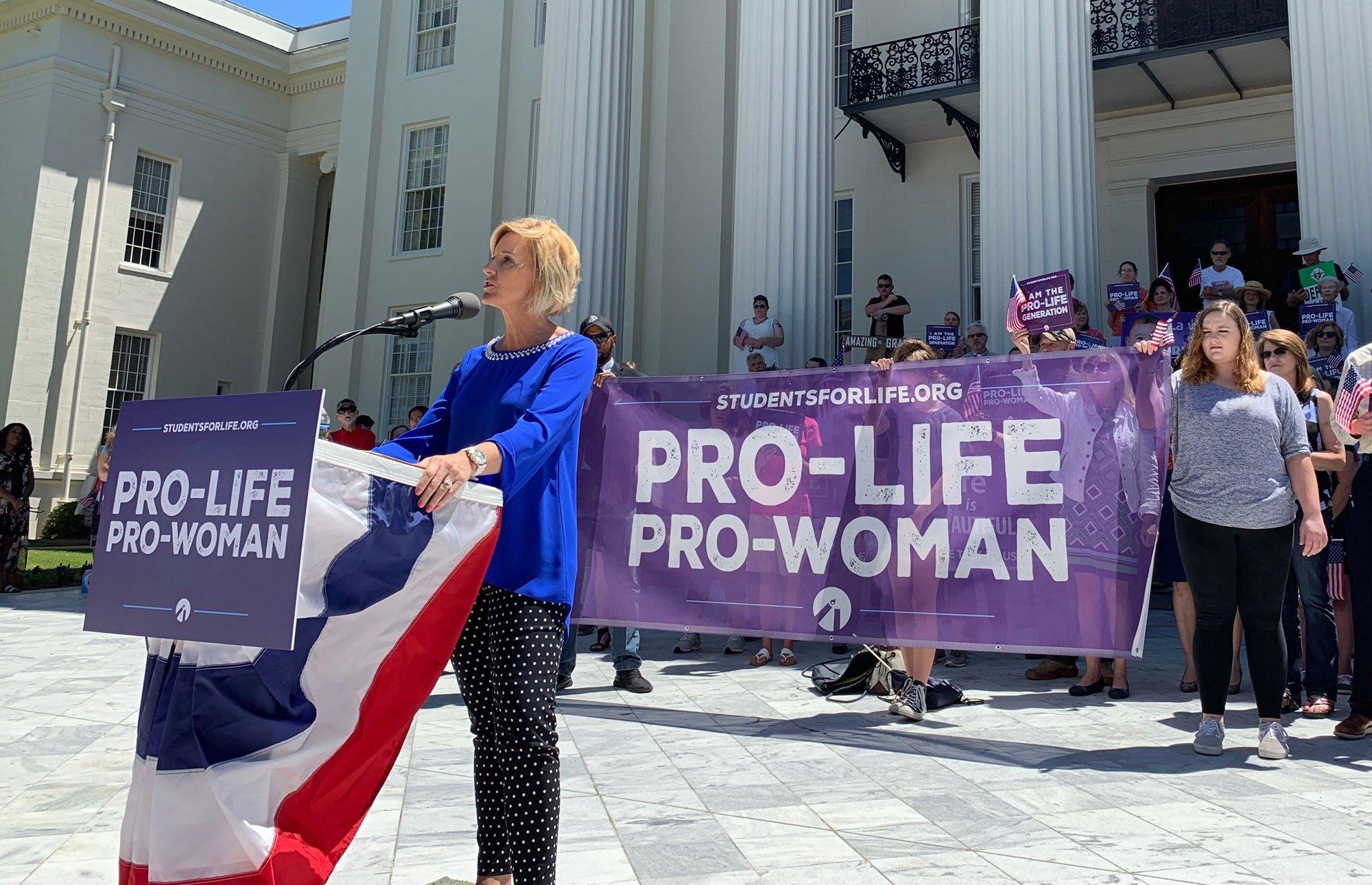 Abortion Protest Alabama 2019