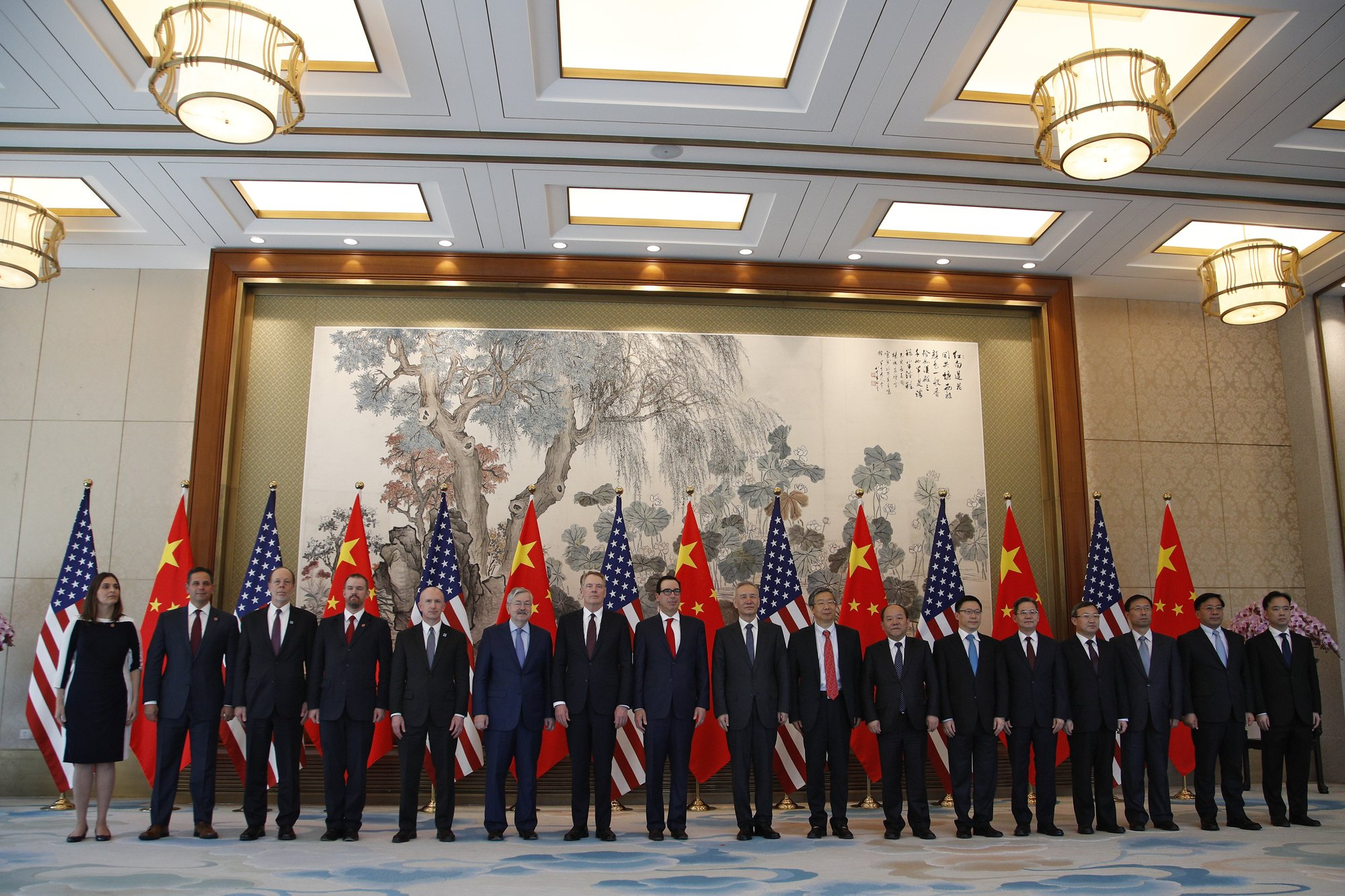 US China Trade Talk Group May 1, 2019