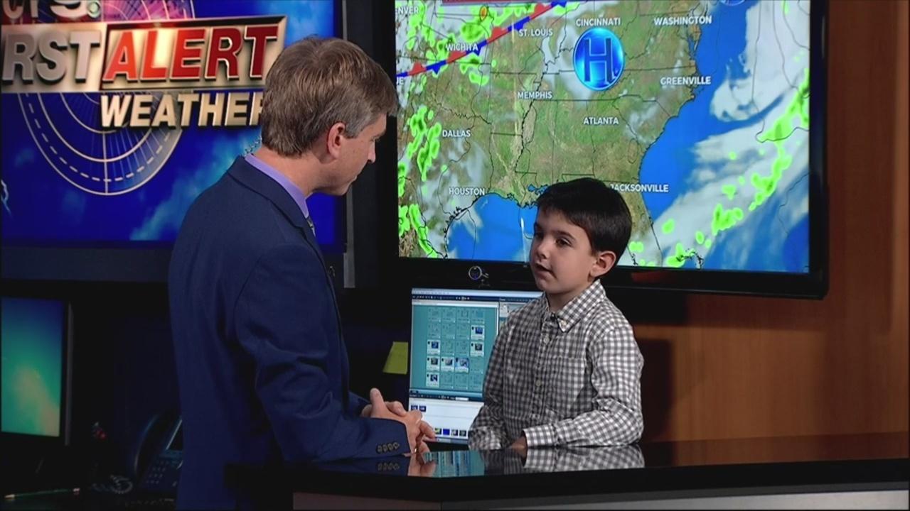 WNCT9 First Alert Weather Kids: Caleb Johnson