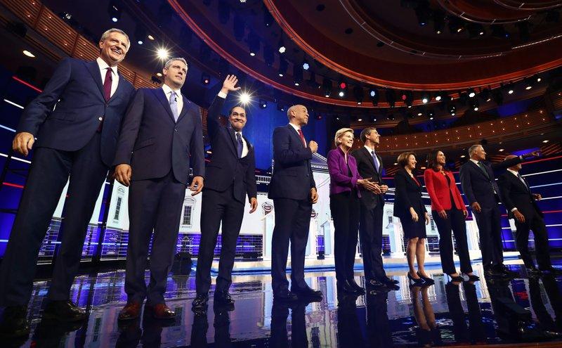 2019 Democratic Debate Candidates