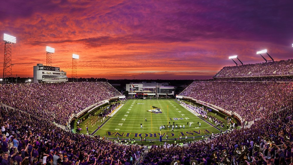 ECU Football Stadium (ECU Athletics)