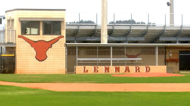 Lennard High School Longhorn Logo