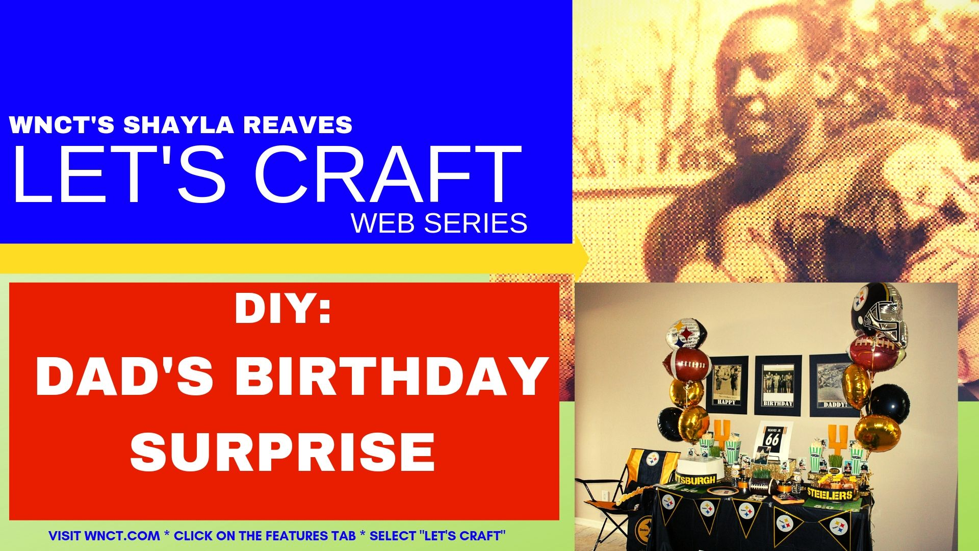 Let's Craft - Dad's Birthday Surprise