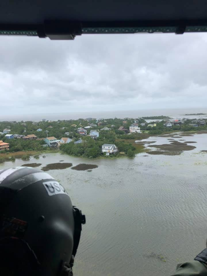 Officials dispatch air transportation units to evacuate