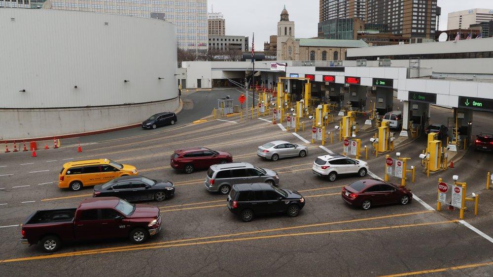 Image result for Trump says US, Canada to close border to 'non-essential traffic' amid coronavirus