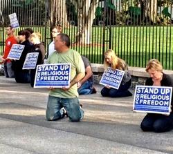 Freedom of Religion Protest
