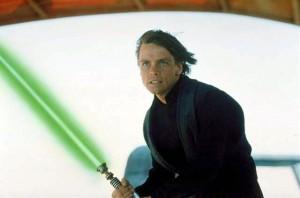 """Mark Hamill as the jedi Luke Skywalker in """"Star Wars"""""""