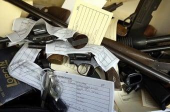 Anonymous Gun Buy Back Program In San Francisco