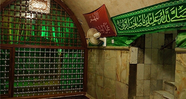 The room in the Jamkaran Mosque located in the City of Qom, leading to the well where the regime officials believe, Imam Mahdi, Shiites 12th Imam is awaiting re-appearance