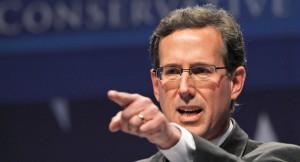 Former Sen. Rick Santorum, R-Penn.