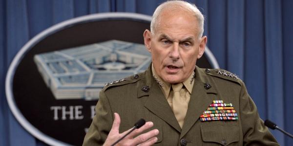 Marine Corps Gen. John Kelly