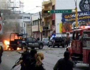 Drug war violence in Ciudad Juarez, Mexico