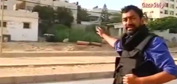 A reporter from India's NDTV at the Al-Shifa hospital in Gaza