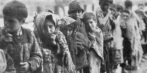 Children victims of the Armenian Genocide