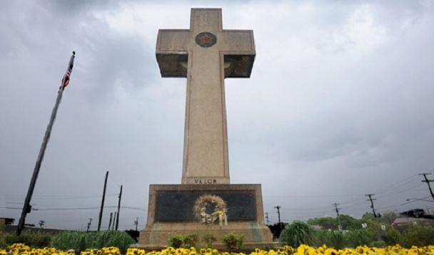 The World War I memorial known as Bladensburg's Cross in Bladensburg, Maryland, is under attack from atheists and Muslims.