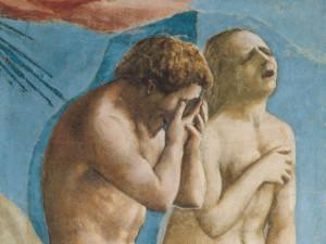Adam and Eve by Masaccio