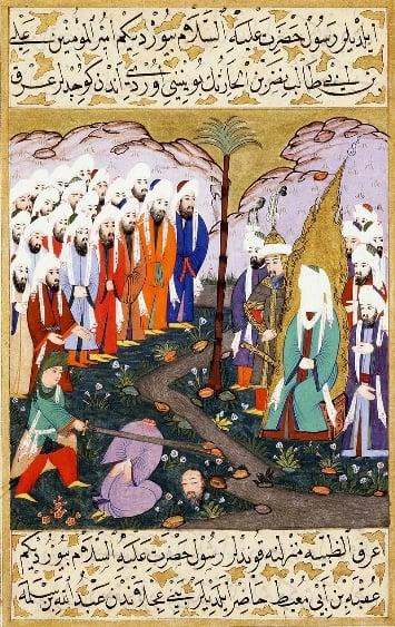 Muhammad orders beheading