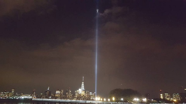 Image being called the Angel of the World Trade Center. This image was captured by Rich J McCormack. He is a photographer at the New Jersey Journal. Copyright: Richard McCormack
