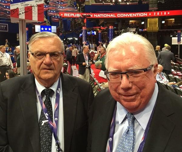 Sheriff Joe Arpaio and Jerome Corsi