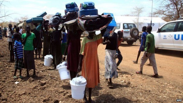 Refugees at a United Nations camp in South Sudan. At least 95 percent of the refugees sent to the U.S. are picked by the U.N.
