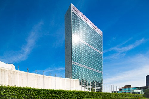 U.N. Building in Manhattan, New York