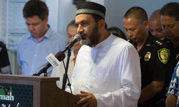 Imam Ismail Elshikh, a native of Egypt, leads a Muslim Brotherhood-tied mosque in Honolulu, Hawaii, and claims he is suffering 'irreparable harm' by President Trump's temporary travel ban.