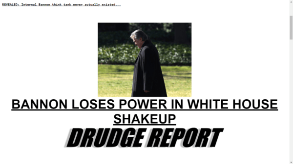 drudge bannon headline