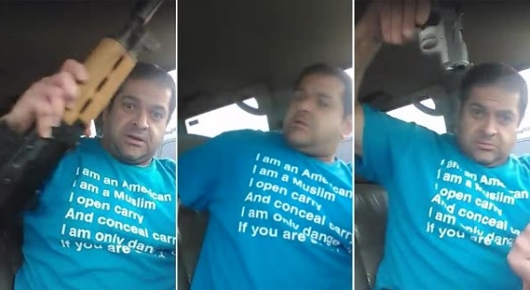Ehab Jaber made a threatening Facebook video at Christian conference in Sioux Falls South Dakota April 9 2017
