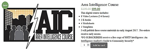 Area Intelligence Course