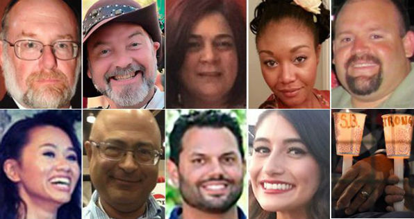 Victims of the Dec. 2, 2015, terror attack in San Bernardino, California