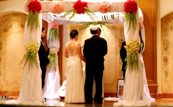 Jewish weddings in Israel are conducted under the authority of a religious council known as a rabbinic court or Sanhedrin.