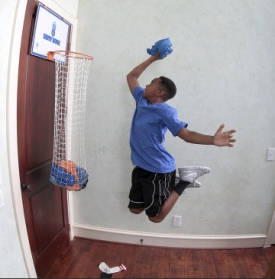 Basketball net laundry hampers anyone?