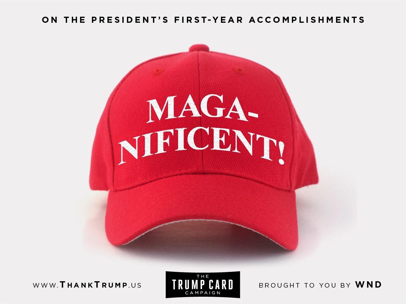 Thank Trump Card #2