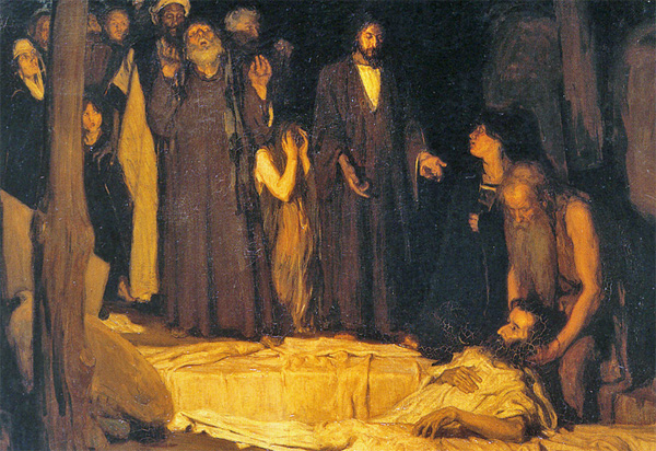 'The Resurrection of Lazarus,' oil on canvas painting by Henry Ossawa Tanner, 1896, Musee d'Orsay, Paris (Photo: Wikimedia Commons)