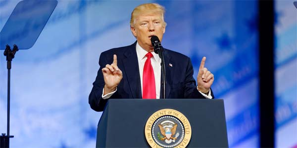 President Trump (Photo: Flickr/Michael Vadon)
